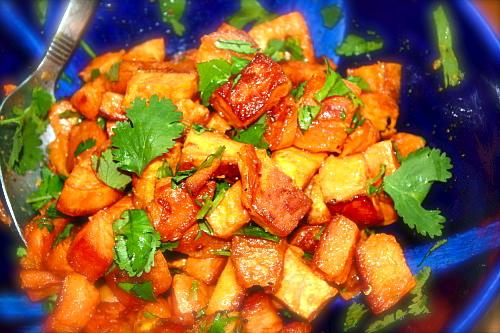 Salada Marroquina de Batata Doce