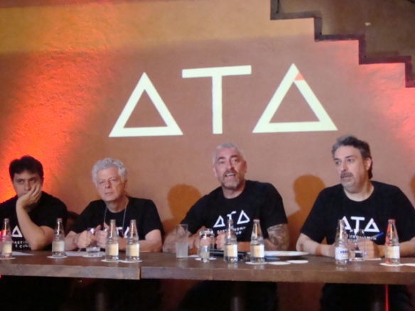 Tiago Medalha, Beto Ricardo, Alex Atala, Roberto Smeraldi - Instituto ATA