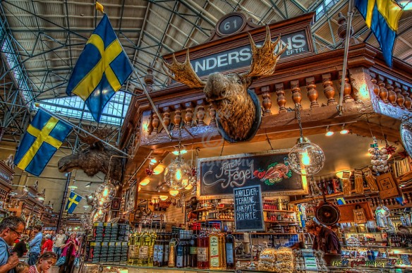 Östermals Saluhall - Estocolmo, Suécia - Foto: Buzzfeed