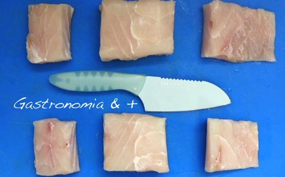 Bacalhau, Robalo ou Abrótea são excelentes peixes para este prato
