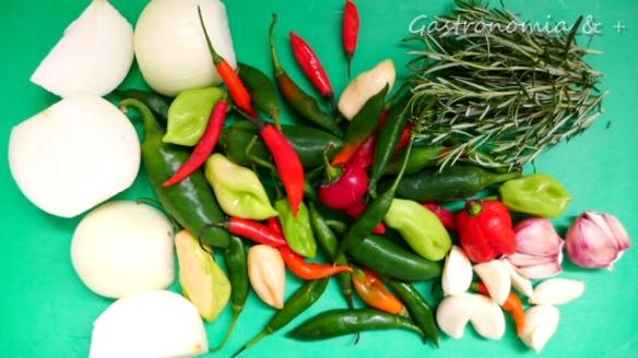 Utilize um mix de pimentas para ter mais sabor e menos ardor!