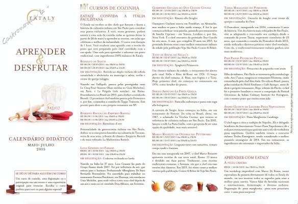 cursos@eataly.com.br (11) 3279-3300