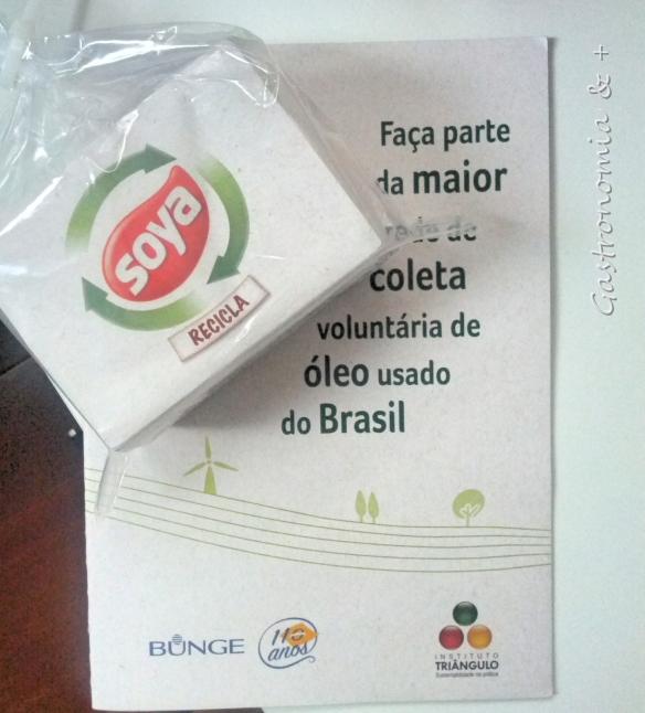 Sabão ecológico feito a partir de óleo reciclado @soyarecicla @