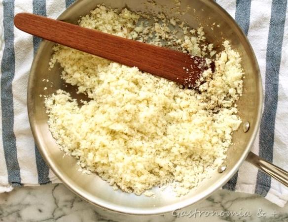 Esta preparação pode substiuir o arroz