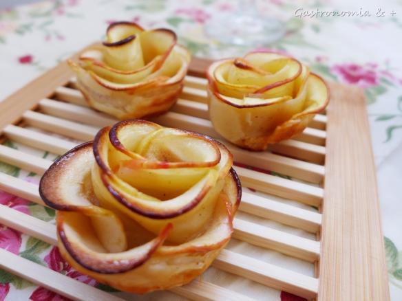 Não corte fatias muito finas de maçã pois queimarão no forno... :(