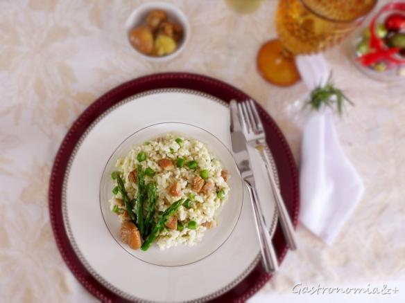 A delicadeza deste prato se reflete na composição da mesa